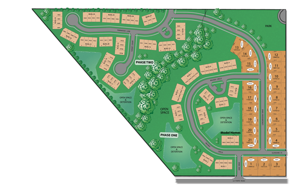 Brookside Meadows Tinley Park Plot Map